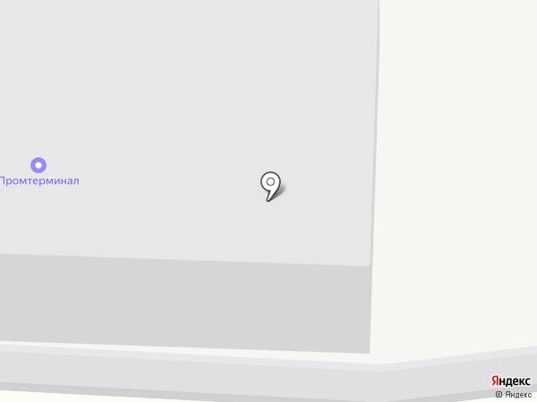 Промтерминал на карте Оренбурга