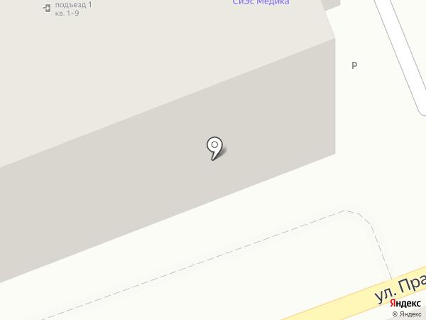 Хостел на карте Оренбурга