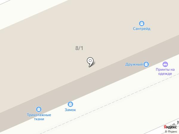 Защита-ВЕЛТ на карте Оренбурга