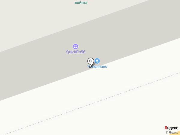 Основа Телеком на карте Оренбурга