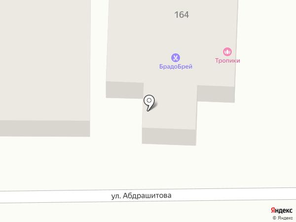 Тропики на карте Оренбурга