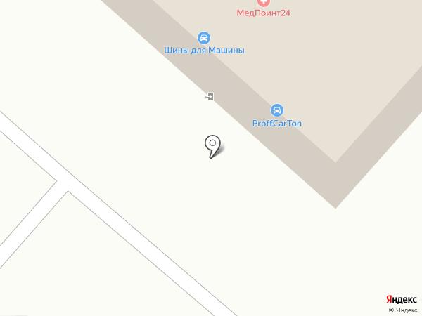ProffCarTon на карте Оренбурга