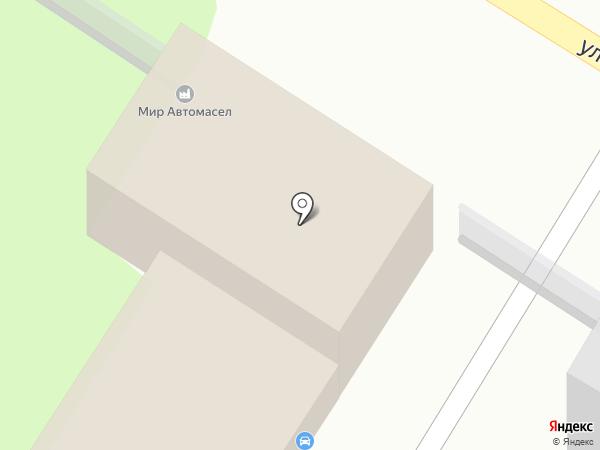 Центр автомасел на карте Оренбурга