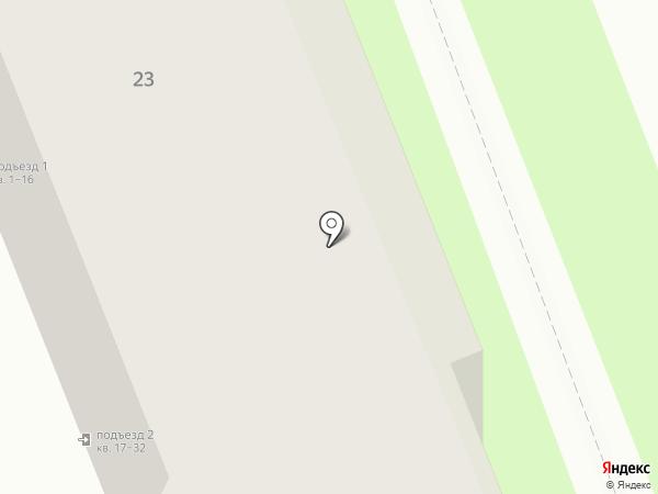 Бирулька на карте Оренбурга