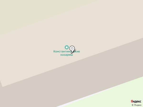Оренбургское президентское кадетское училище на карте Оренбурга