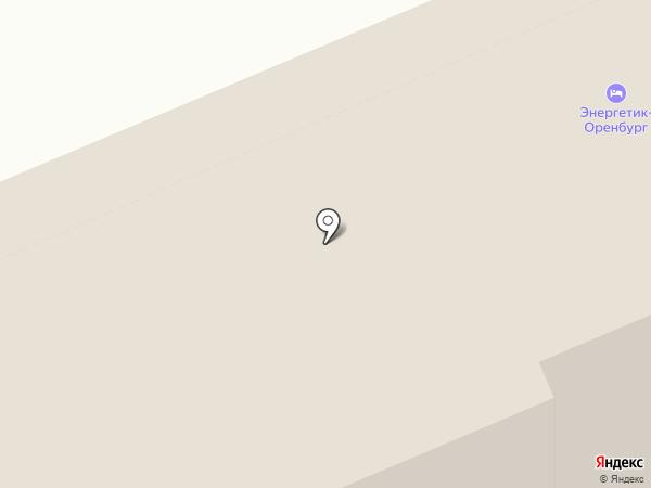 Общежитие на карте Оренбурга