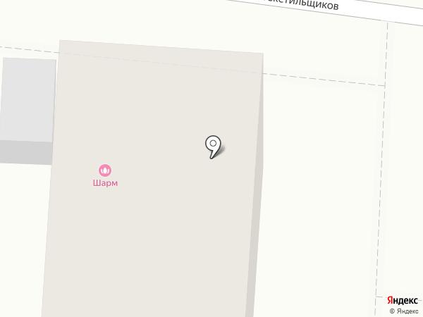 Шарм на карте Оренбурга