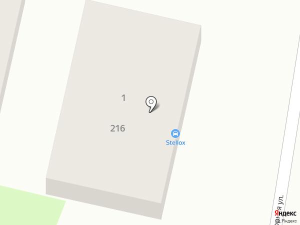 Салон по продаже тонировочных пленок на карте Оренбурга