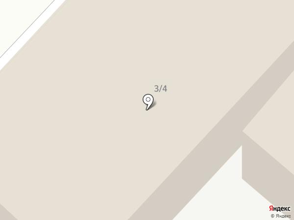 Авангард Авто на карте Оренбурга