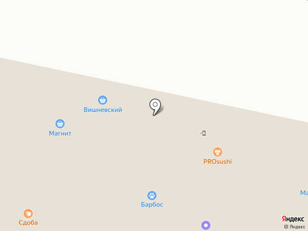 Малютка на карте Оренбурга