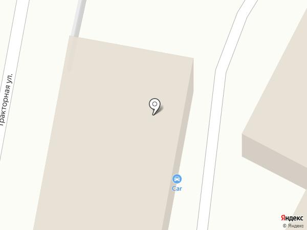 Автоcar на карте Оренбурга