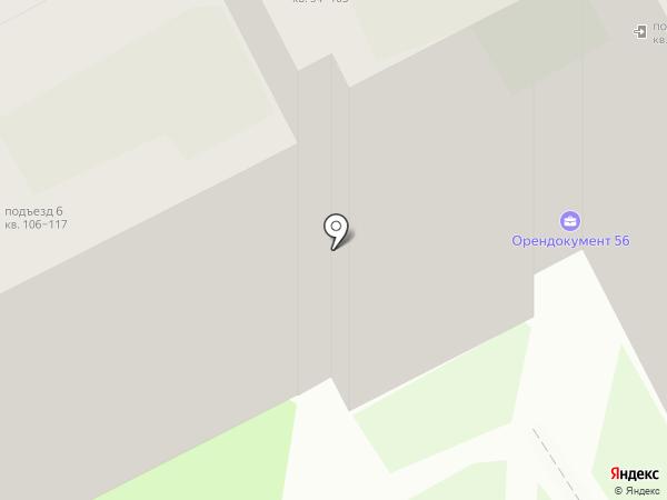 Амрита на карте Оренбурга