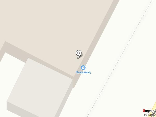 Пивзавод на карте Оренбурга