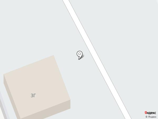 Автостоянка на карте Оренбурга