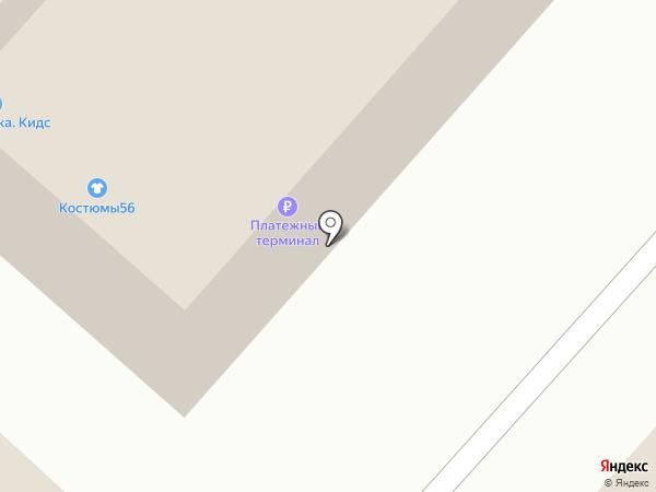 Нежность на карте Оренбурга