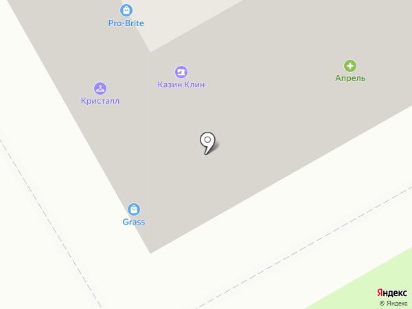 Пандок на карте Оренбурга
