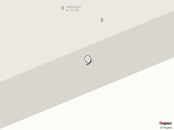 Интерфейс на карте Оренбурга