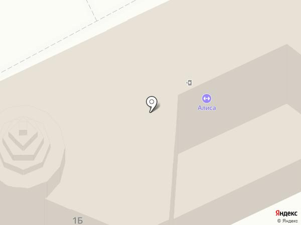 Яр на карте Оренбурга