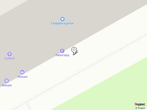 Банкомат, АКБ Авангард, ПАО на карте Оренбурга