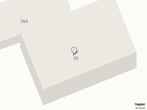 Продовольственный магазин на карте Оренбурга
