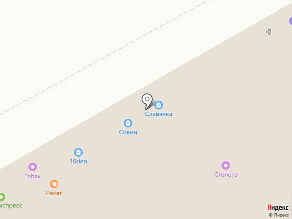 Ева на карте Оренбурга
