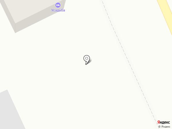Усадьба на карте Оренбурга