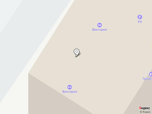 Виктория на карте Оренбурга