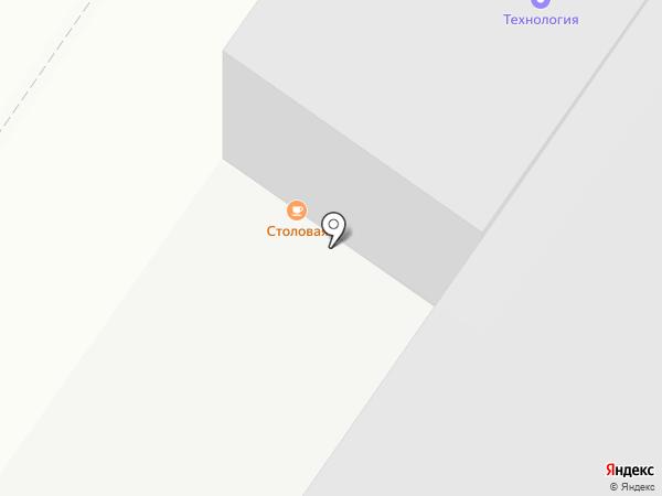 Столовая-пельменная на карте Оренбурга