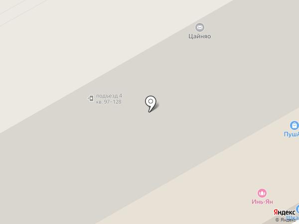 Инфосервис 6-55 на карте Оренбурга