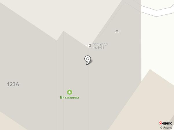 Эстель на карте Оренбурга