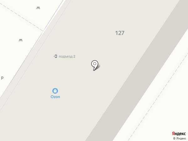 Шебби на карте Оренбурга