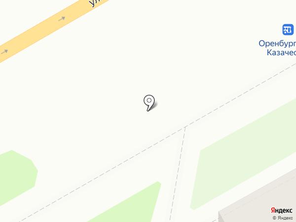 СРОЧНОМЕН на карте Оренбурга