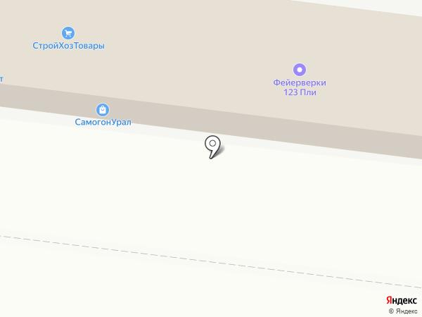 Стройформат на карте Оренбурга
