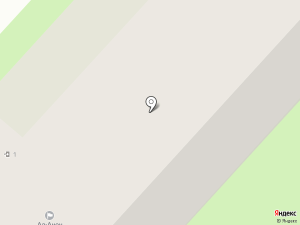 Ал-Анон на карте Оренбурга