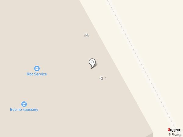 ШвейСервис на карте Оренбурга