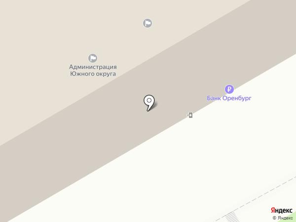 Отдел по делам ГО и ЧС по Южному округу на карте Оренбурга