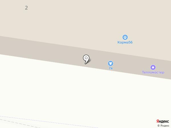 Вираж на карте Оренбурга
