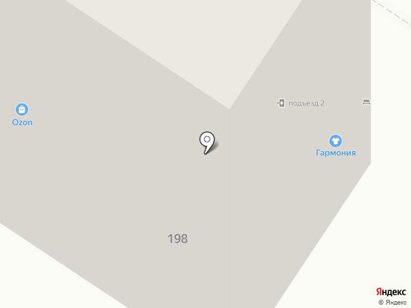 Фаворит на карте Оренбурга