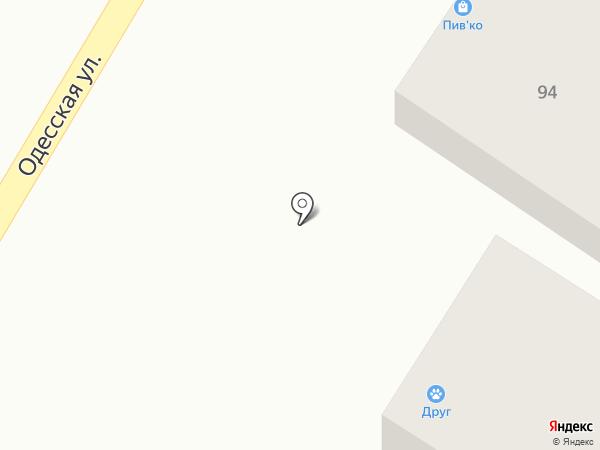 ДРУГ на карте Оренбурга
