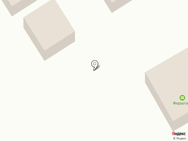 Форштадт на карте Оренбурга