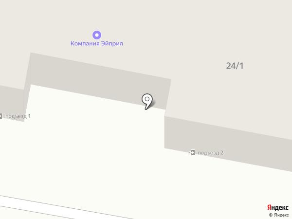 Эйприл-56 на карте Оренбурга