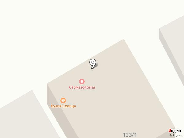Пармананд на карте Оренбурга