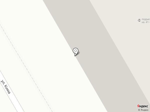 Мясной магазин на карте Оренбурга