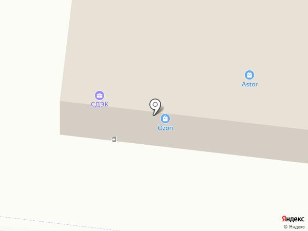 AstoR на карте Оренбурга