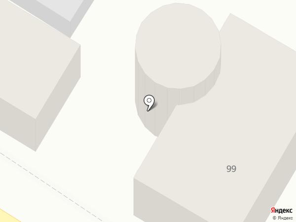 Хуторок на карте Оренбурга