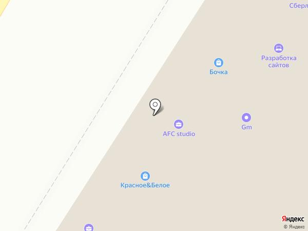 Табачный магазин на карте Оренбурга