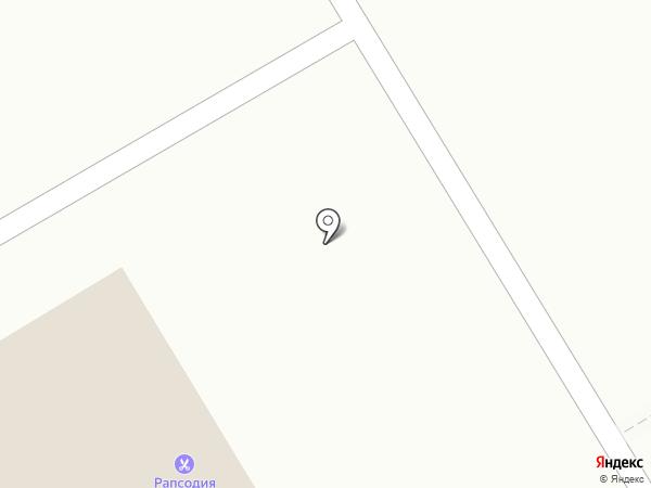 Киоск по продаже пончиков на карте Оренбурга