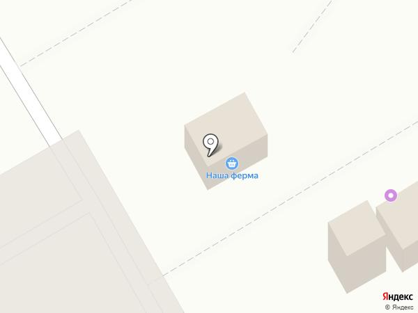 Киоск по продаже хлебобулочных изделий на карте Оренбурга
