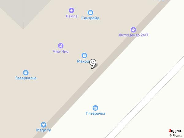 Семь+Я на карте Оренбурга