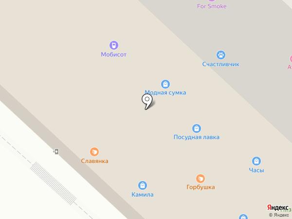 Лунет на карте Оренбурга